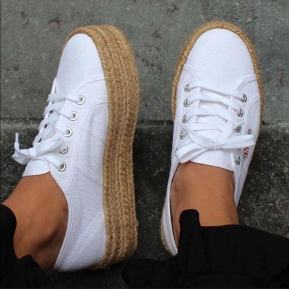 2730 Cotropew White Espadrille Sneaker